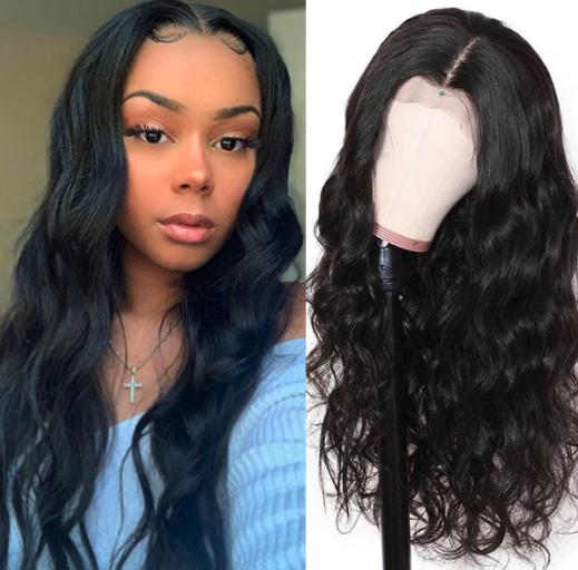 T-Part HD Lace Frontal Wigs 150% Density Virgin Hair (#613