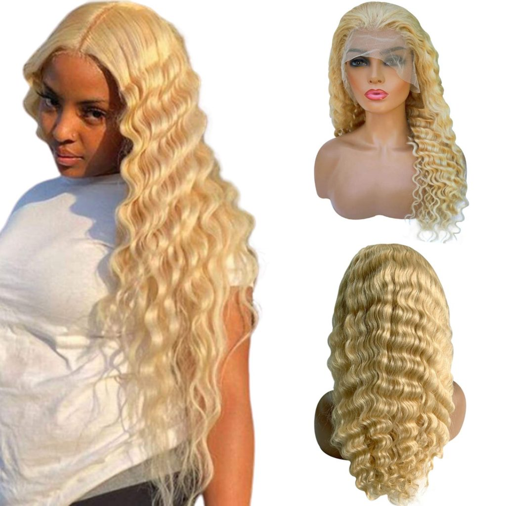 Luve 150% Density Body Wave Full Lace Wig Human Hair Pre